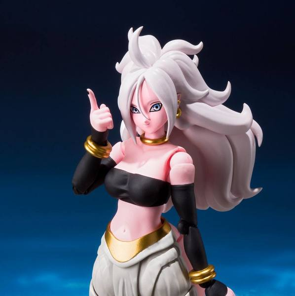 Dragonball FighterZ figurine SH Figuarts Android No. 21 Bandai