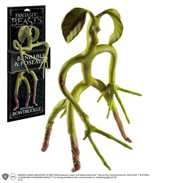 Les Animaux fantastiques figurine flexible Bowtruckle Noble Collection