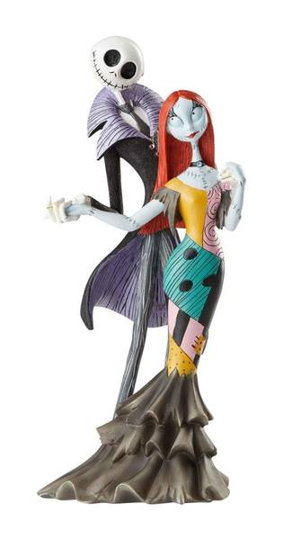 Disney Showcase Collection statue Jack and Sally Deluxe L'Étrange Noël de monsieur Jack NBX Enesco