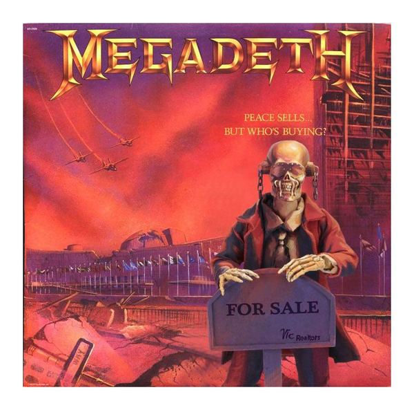 Megadeth figurine Retro Peace sells... but who´s buying Neca