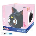 Sailor Moon mug 3D Luna Abystyle