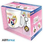 Sailor Moon Pack Mug + Porte-Clés + Badges Abystyle