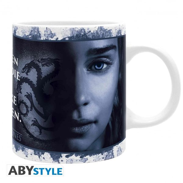 Game Of Thrones mug 320 ml Daenerys Targaryen et Cersei Lannister Abystyle