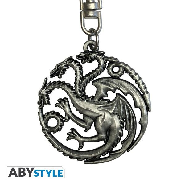 Game Of Thrones Porte-clés 3D Targaryen Abystyle