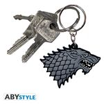 Game Of Thrones Porte-clés PVC Stark Abystyle