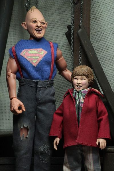 Les Goonies pack 2 figurines Retro Sinok & Choco (Sloth & Chunk) Neca