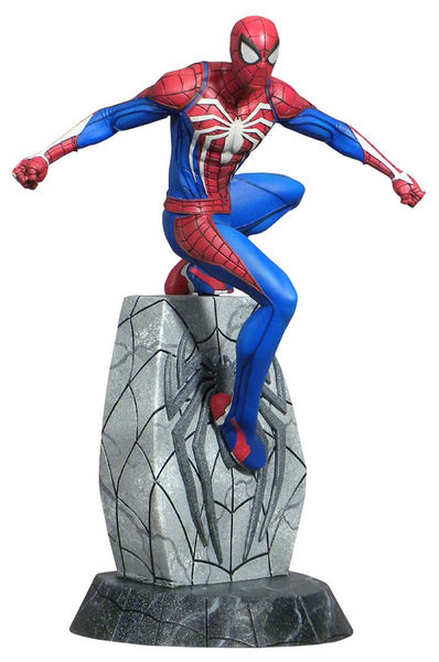 Spider-Man 2018 Marvel Video Game Gallery statue Spiderman  Diamond Select