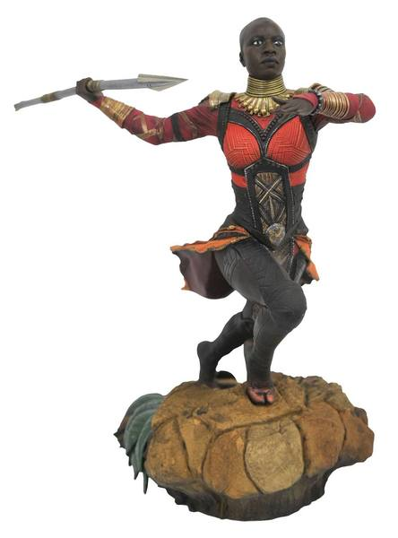 Black Panther Marvel Movie Gallery statue Okoye Diamond Select