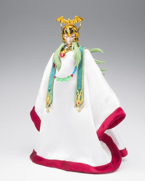 Saint Seiya Myth cloth Ex Aries Shion Surplis & Pope Bandai
