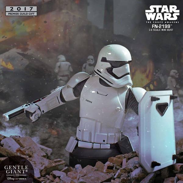 Star Wars Episode VII buste FN-2199 PGM Exclusive Gentle Giant