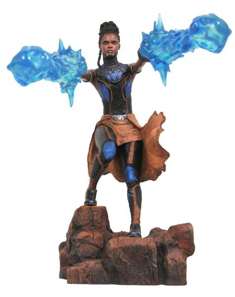 Black Panther Marvel Movie Gallery statue Shuri Diamond Select
