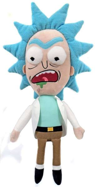 Rick & Morty peluche Galactic Plushies Rick Worried 41 cm Funko