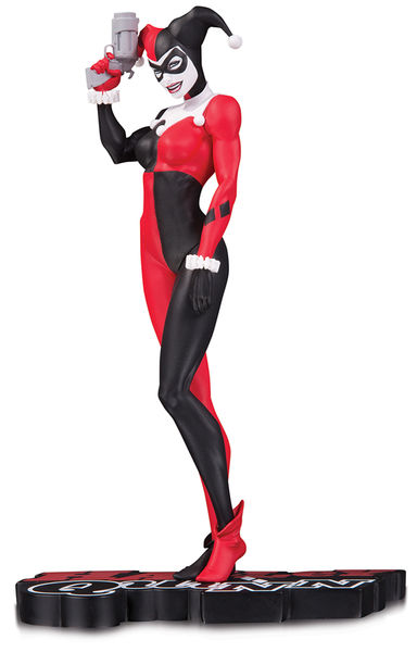 DC Comics Red, White & Black statue Harley Quinn by Michael Turner DC Collectibles Batman