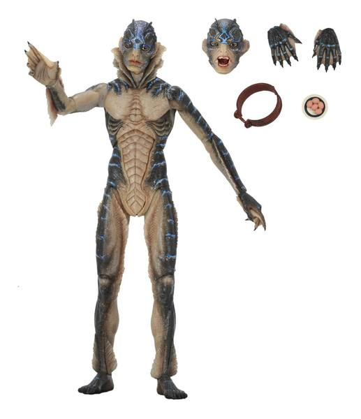 Guillermo del Toro figurine Signature Collection Amphibian Man La Forme de l'eau Neca