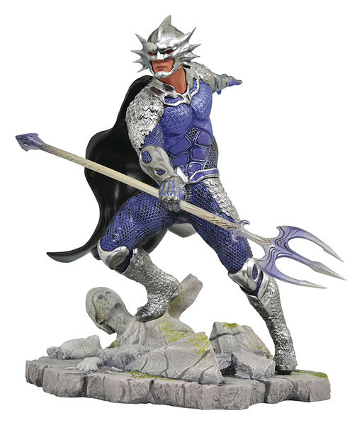Aquaman DC Movie Gallery statue Ocean Master Diamond Select