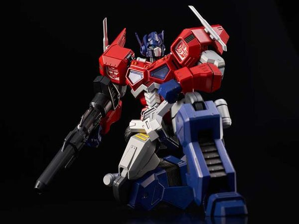 Transformers Optimus Prime Attack Mode Furai Model Kit Flame Toys
