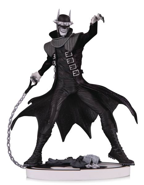 Batman Black & White statuette The Batman Who Laughs 2nd Edition 19 cm