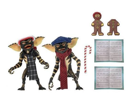Gremlins pack 2 figurines Christmas Carol Winter Scene 1 Neca