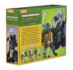 Les Tortues ninja pack 2 figurines Leonardo vs Shredder TMNT Neca