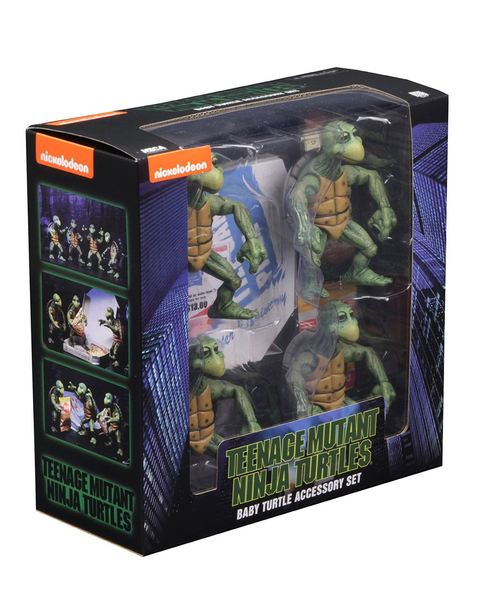 Les Tortues ninja pack 4 figurines Baby Turtles TMNT Neca