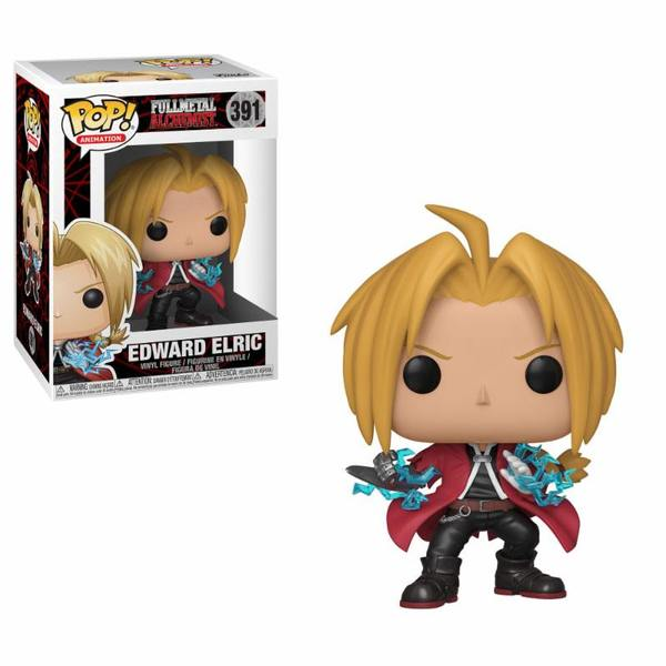 Fullmetal Alchemist POP! Animation 391 figurine Edward Elric Funko