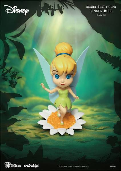 La Fée clochette Disney Best Friends figurine Mini Egg Attack Tinkerbell Peter Pan Beast Kingdom
