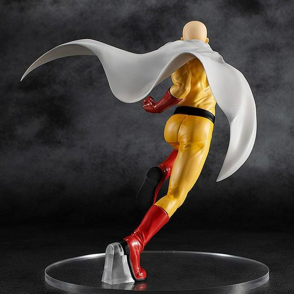 One Punch Man statue Pop Up Parade Saitama Hero Costume Good Smile Company
