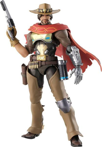 Overwatch figurine Figma McCree Good Smile Company
