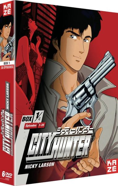 City Hunter - Nicky Larson 1/4 dvd