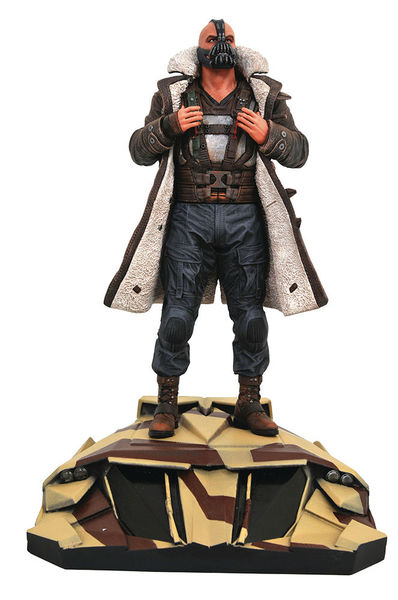 The Dark Knight Rises DC Movie Gallery statue Bane Diamond Select Batman