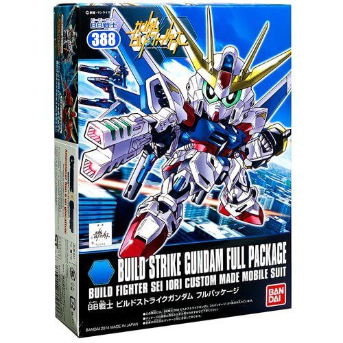 Gundam Build Strike Full Package GUNPLA SD Gundam BB Senshi Vol. 388 BANDAI