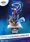 Mickey Beyond Imagination diorama PVC D-Stage The Sorcerer's Apprentice Beast Kingdom