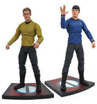 Star Trek Into Darkness Select série 1 : 2 figurines Diamond Select