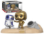 Star Wars pack 2 POP! Movie Moments Vinyl Bobble Head Escape Pod Landing Funko