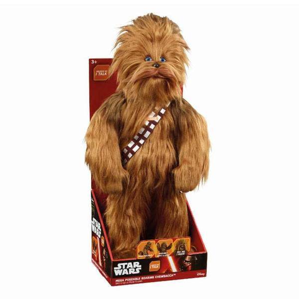 Star Wars peluche parlante Mega Poseable Roaring Chewbacca 61 cm Underground Toys