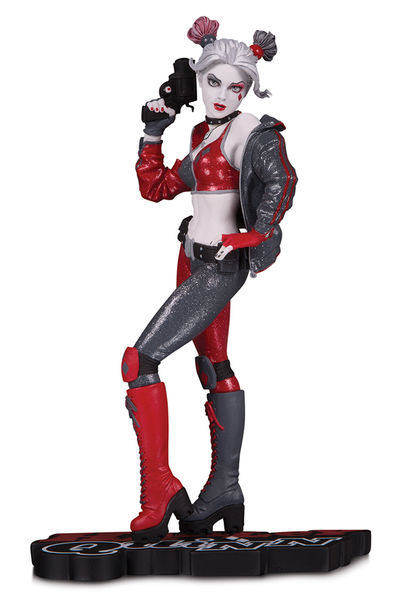 DC Comics Red, White & Black statue Harley Quinn by Joshua Middleton DC Collectibles Batman