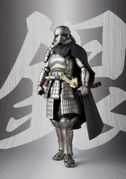 Star Wars figurine Meisho Movie Realization Ashigaru Taisho Captain Phasma Bandai