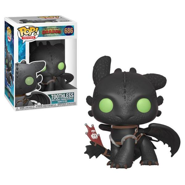 Dragons 3 POP! Vinyl figurine Toothless 9 cm