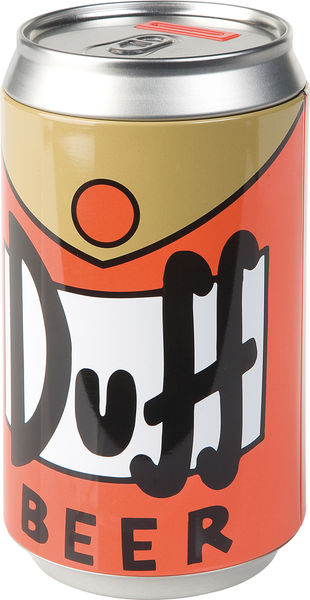 Simpsons DUFF Beer Canette Tirelire