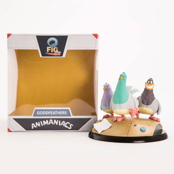 Animaniacs figurine Q-Fig MAX Goodfeathers Quantum Mechanix