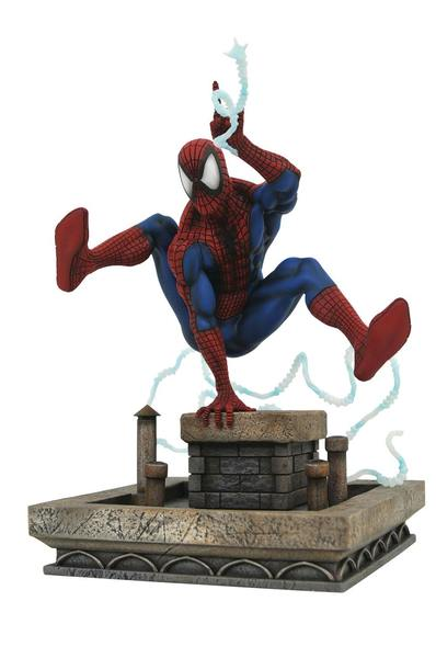 Marvel Gallery diorama 90's Spider-Man Diamond Select