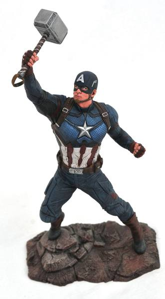 Avengers Endgame Marvel Gallery statuette Captain America  Diamond Select