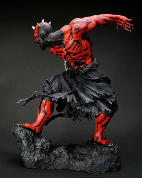 Star Wars statue ARTFX 1/7 Darth Maul Japanese Ukiyo-E Style Light-Up Kotobukiya