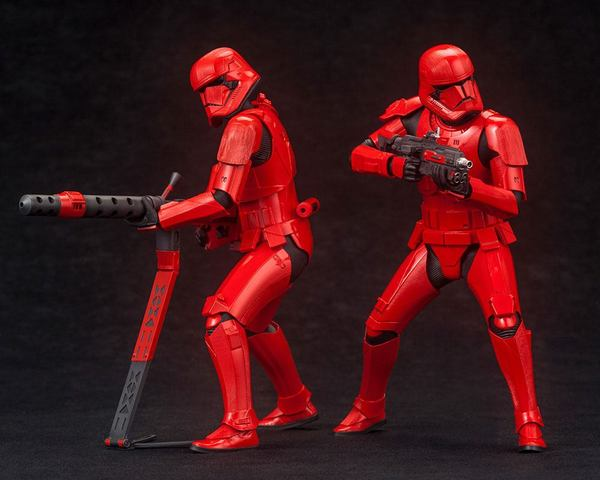 Star Wars Episode IX pack 2 statues ARTFX+ Sith Troopers Kotobukiya