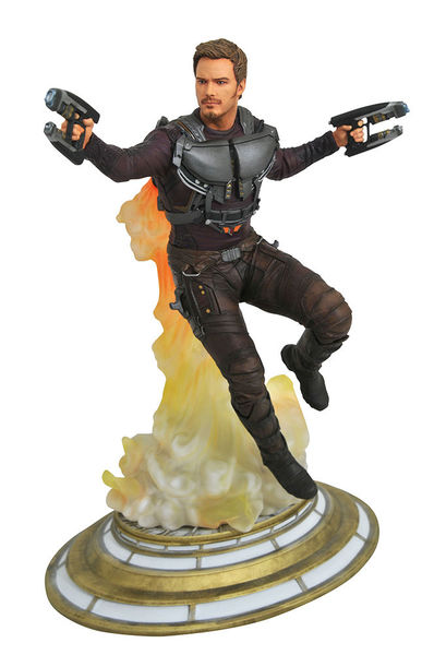 Guardians of the Galaxy Vol. 2 Marvel Movie Gallery statue Maskless Star-Lord Diamond Select