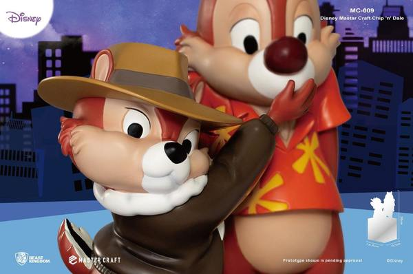Chip & dale Tic & Tac Rangers du risque statue Master Craft Beast Kingdom