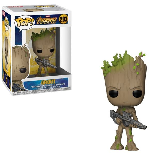 Avengers Infinity War POP! Movies 293 figurine Groot Funko