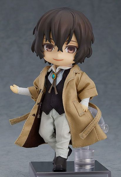 Bungo Stray Dogs figurine Nendoroid Doll Osamu Dazai Orange Rouge