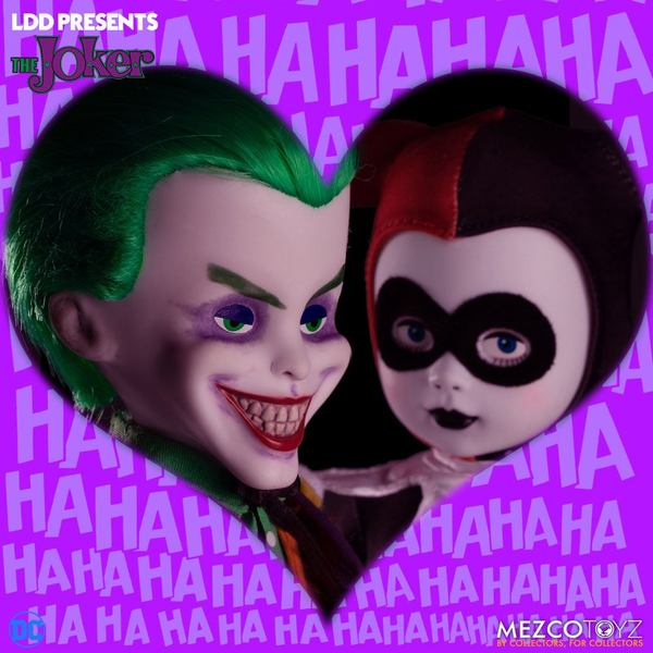 DC Universe LDD Presents poupée Joker Living Dead Doll Mezco