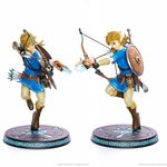The Legend of Zelda Breath of The Wild Statue Link First 4 Figures